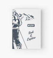 ANTARCTIC GREAT ADVENTURE    T-SHIRT   Hardcover Journal