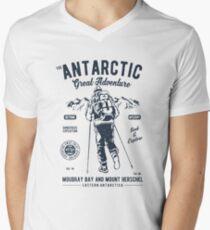 ANTARCTIC GREAT ADVENTURE    T-SHIRT   Men's V-Neck T-Shirt