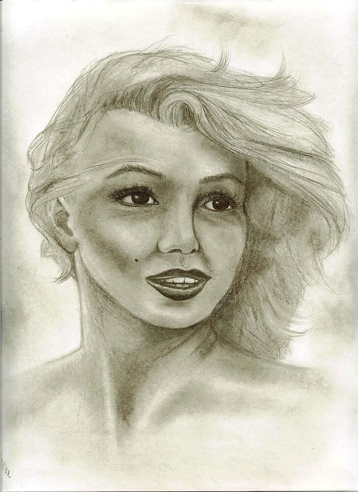 Candle in the Wind - Marilyn Monroe aka Norma Jeane  by vertigo2go