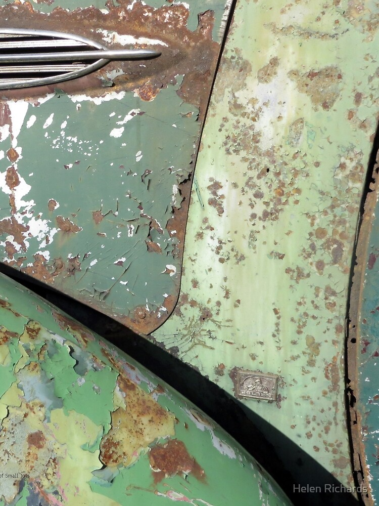 Green and Rust Car #5 by helen121