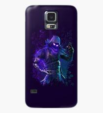 Funda/vinilo para Samsung Galaxy azul oscuro escondido