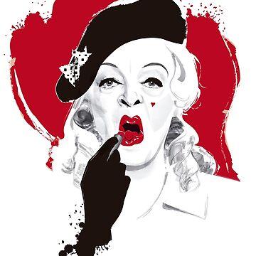 Baby Jane lipstick by AleMogolloArt