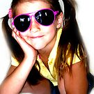 My pink sunglasses by Janine Fynn