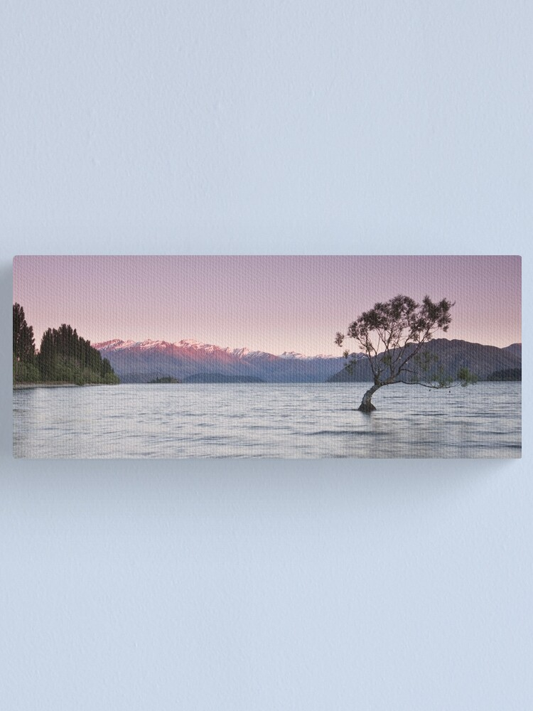 Alternate view of Mountainland, NZ Canvas Print