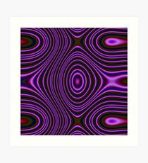 Dark Color trendy pattern Art Print