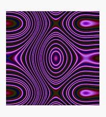Dark Color trendy pattern Photographic Print