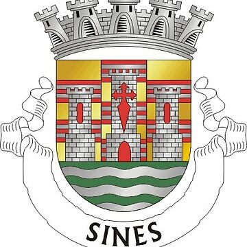 Coat of Arms of Sines, Portugal by Tonbbo
