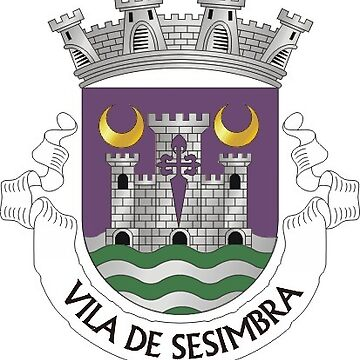 Coat of Arms of Sesimbra, Portugal by Tonbbo