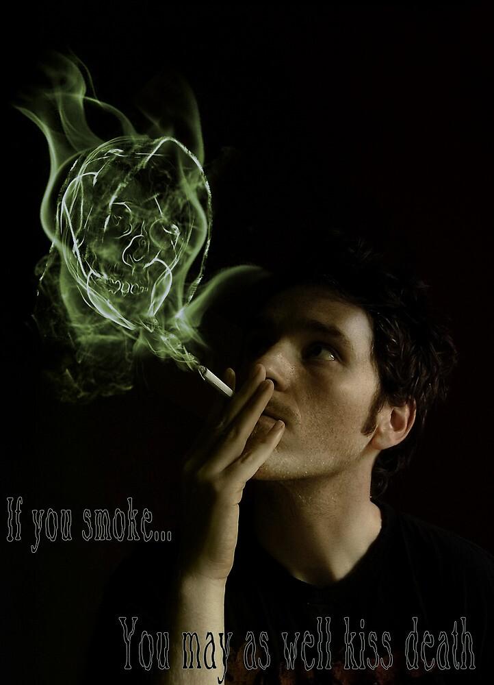 Anti Smoking Campaign poster. by SuperSprayer