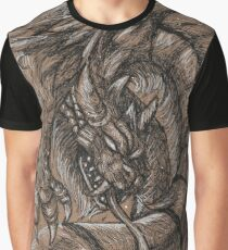 Dragonsnake Graphic T-Shirt