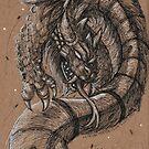 Dragonsnake by nokcturna