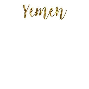 Yemen Gold Yemen by TrevelyanPrints