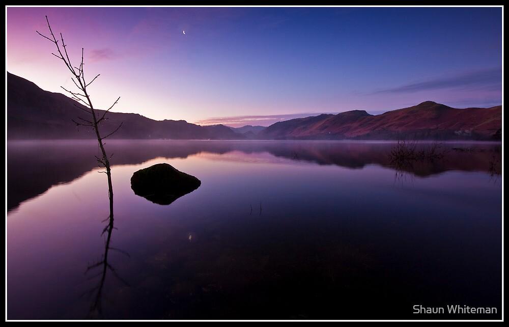 Dawn over Derwent water by Shaun Whiteman