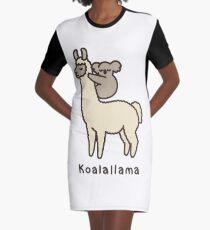 Koalallama Graphic T-Shirt Dress