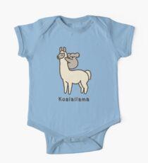 Koalallama Short Sleeve Baby One-Piece