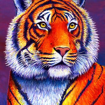 Colorful Bengal Tiger by lioncrusher