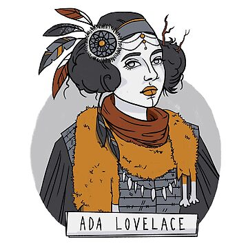 Ada Lovelace by LanaWilchai