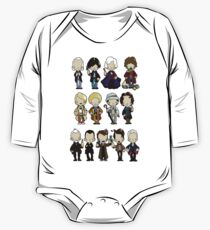 The Doctors 1-11 (plus war doc) One Piece - Long Sleeve