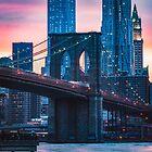 «Puente magenta de brooklyn» de Randy  LeMoine