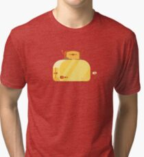 Camiseta de tejido mixto Burning Toast