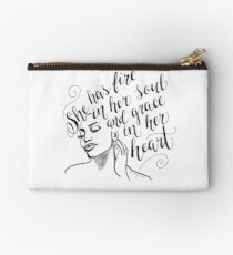 Fire and Grace Studio Pouch