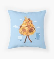 Dog Collector Throw Pillow