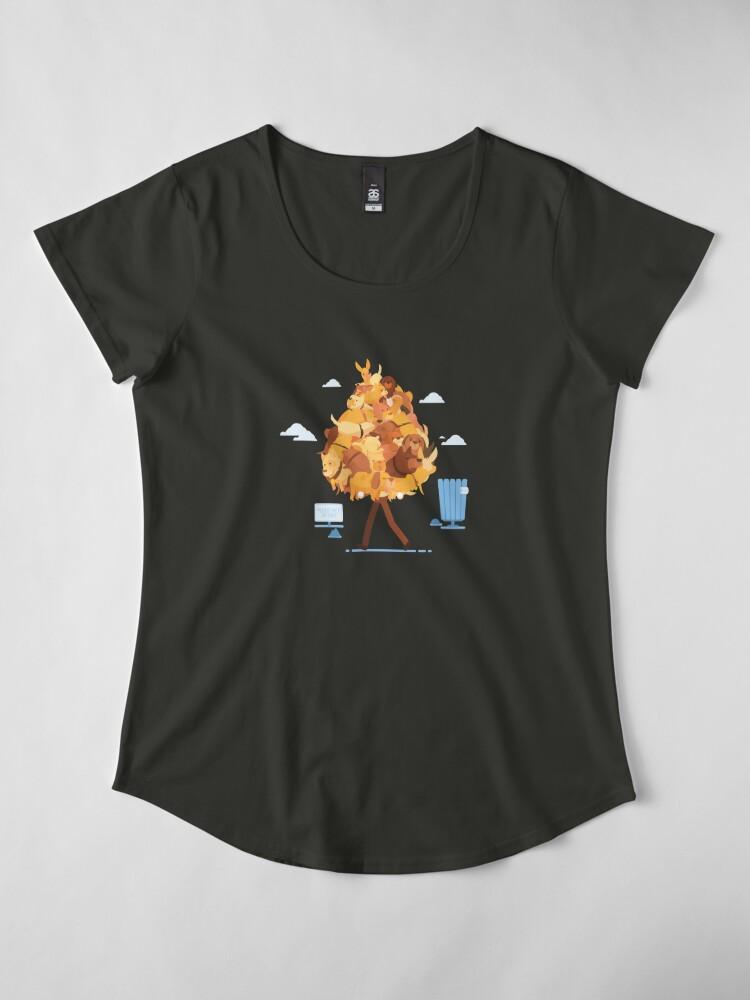 Alternate view of Dog Collector Premium Scoop T-Shirt