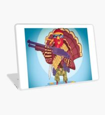 This year no baby, thanksgiving day t-shirt! Laptop Skin