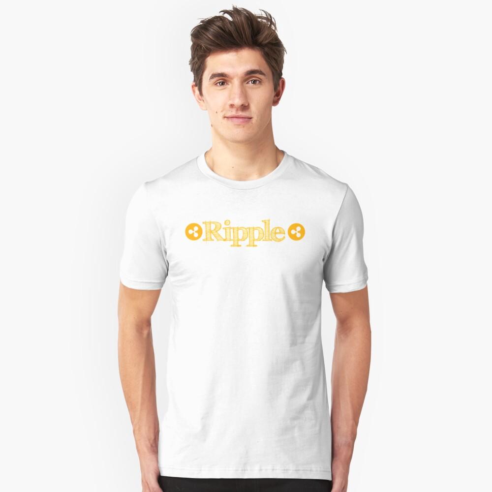 Welligkeit Slim Fit T-Shirt