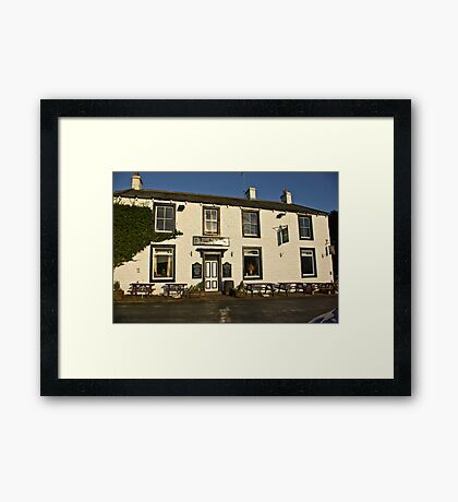 The New Inn - Appletreewick Framed Print