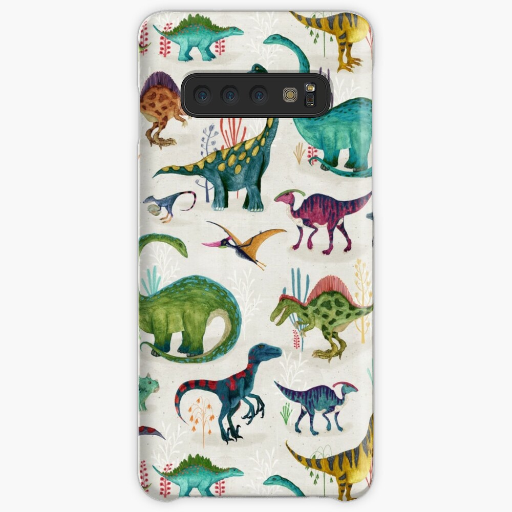 Bright Dinosaurs Case & Skin for Samsung Galaxy