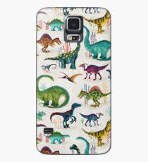 Bright Dinosaurs Case/Skin for Samsung Galaxy