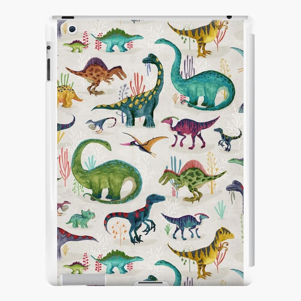 Bright Dinosaurs iPad Cases & Skins