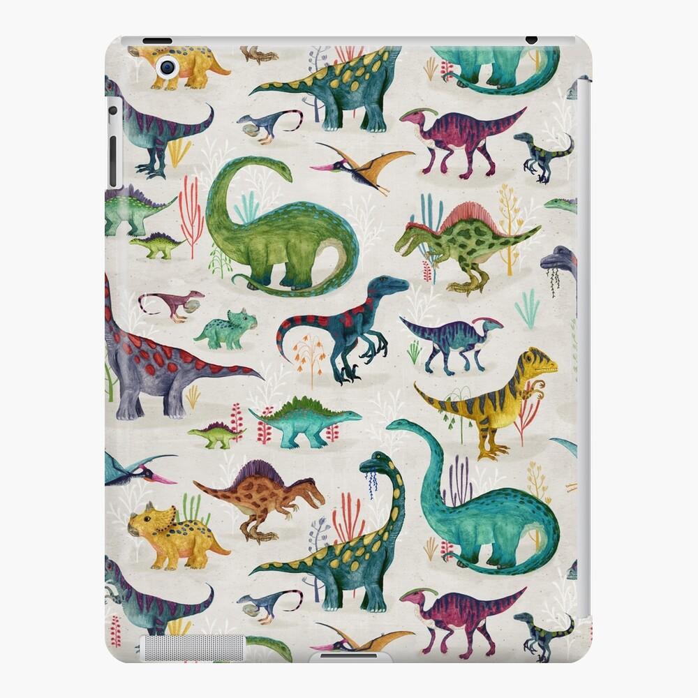 Bright Dinosaurs iPad Case & Skin