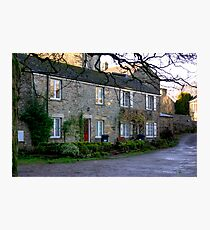 West Burton Cottages Photographic Print
