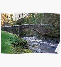 Packhorse Bridge - West Burton Poster