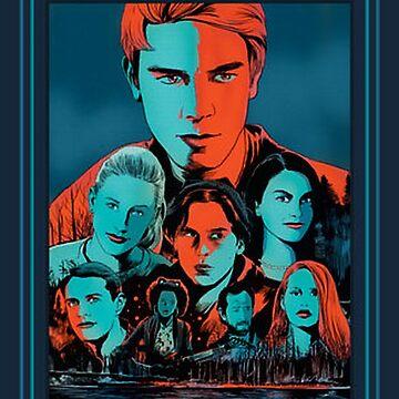 Riverdale Tv Poster Design by mostlytank