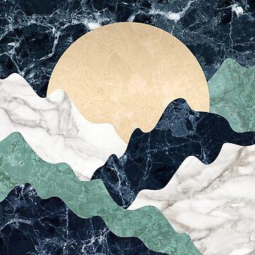 Marble mountains landscape by CatyArte