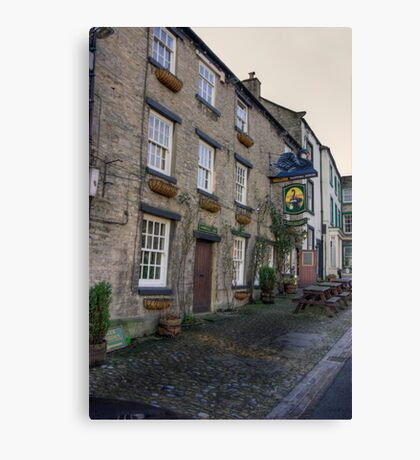 Black Swan Hotel - Middleham Canvas Print