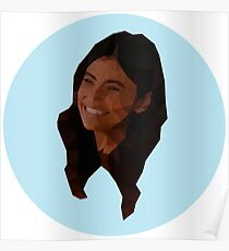 Low Poly Maggie Sawyer Poster