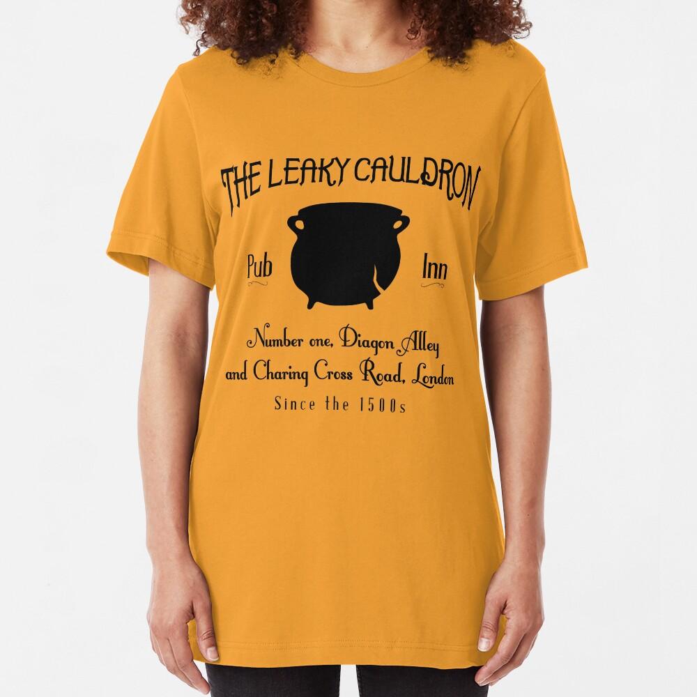 Leaky Cauldron Slim Fit T-Shirt