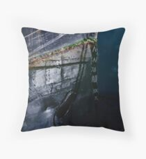 V on V Throw Pillow