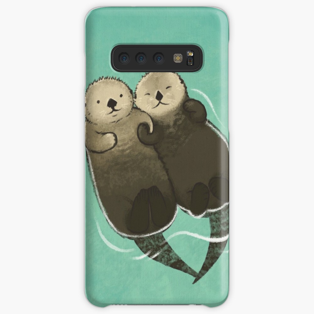 Significant Otters - Otters Holding Hands Case & Skin for Samsung Galaxy