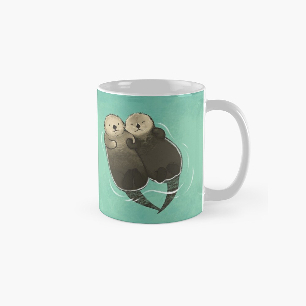 Significant Otters - Otters Holding Hands Mug