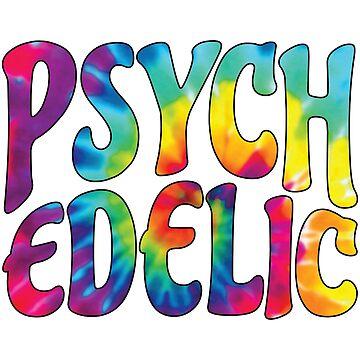 Psychedelic Tie-Dye by Spooky8586