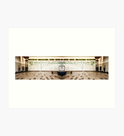 Hammersmith (District and Picadilly) Tube Station Art Print