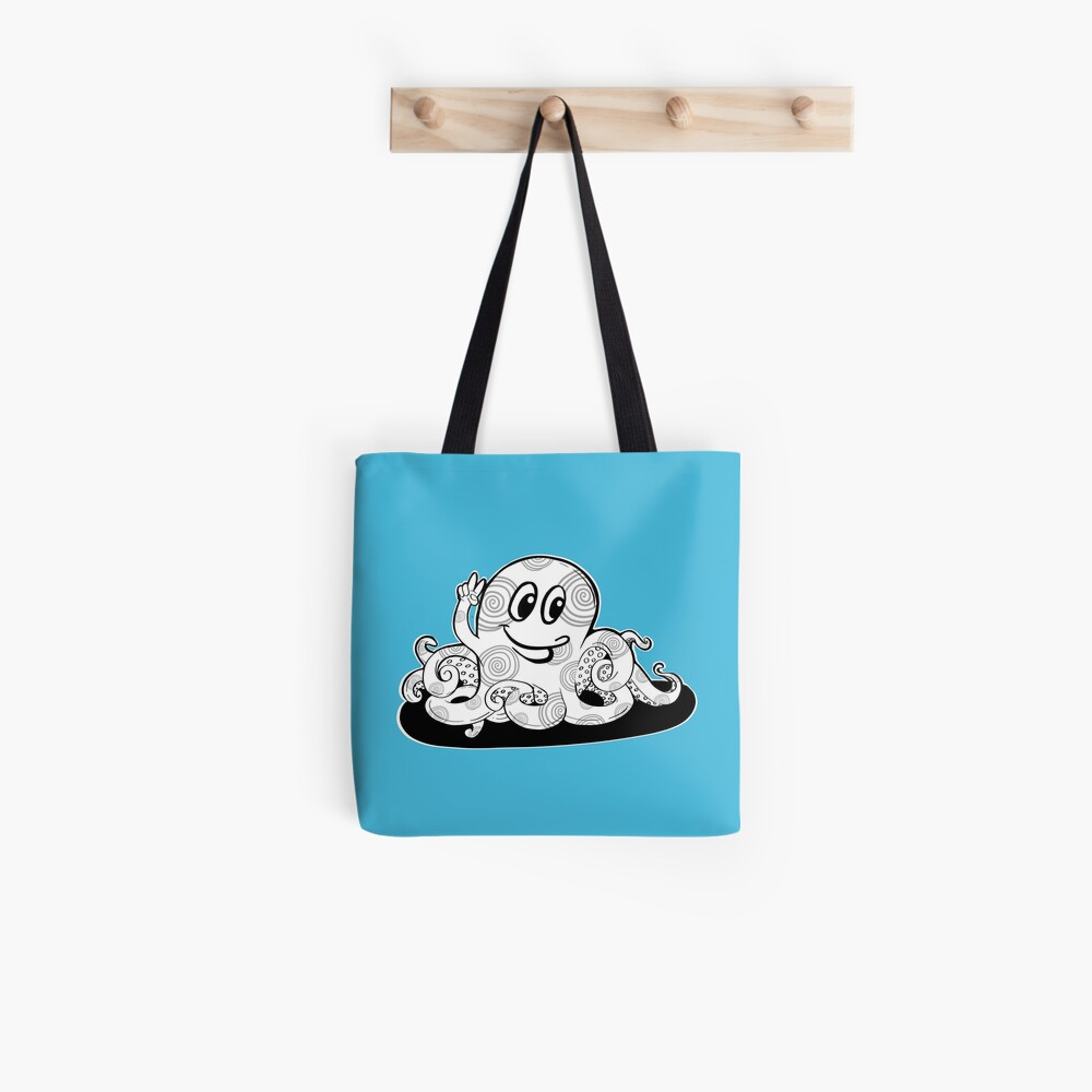 Just Add Colour - Happy Octopus Tote Bag