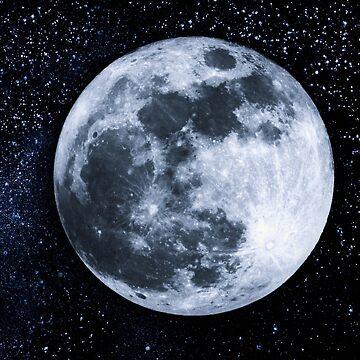 Moon by franceslewis