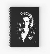 """""""Berni"""" Moonlight Cameo Art Spiral Notebook"""