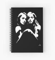 """""""Friends"""" Moonlight Cameo Art Spiral Notebook"""